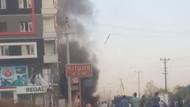 Mardin Kızıltepe'de meydana gelen patlamadan ilk kareler