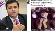 Demirtaş'tan Davutoğlu'na halaylı gönderme!