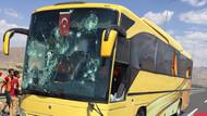 Konya'da tatsız olay! Beşiktaş taraftarlarına saldırı