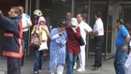 İstanbul Bahçelievler'de hastane yangını!