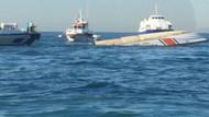 Son dakika! Sarayburnu'nda yük gemisi ile Sahil Güvenlik botu çarpıştı!