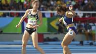 Rio Olimpiyatları'nda yaşanan ilginç an!