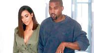 Kim Kardashian'nın cesur elbise seçimi!