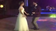 Burcu Biricik ve Emre Yetkin'in kıskandıran düğün dansı