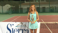 Genç tenisçi Berfu Cengiz, Mısır'da şampiyon oldu