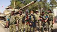 Sınırı geçen TSK tanklarını Türkmen birlikleri karşıladı!