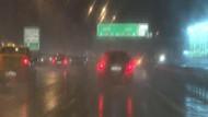 İstanbul'da sağanak yağış sürprizi