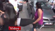 Genç kız sokakta kriz geçirdi, kız arkadaşının hareketi şoke etti