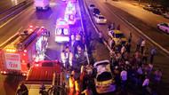 Maltepe'de trafik kazası: 1 ölü, 5 yaralı!