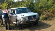 Ormanda aracının içinde ölü bulundu!
