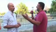 Beyaz TV muhabiri Levent Kelleci, Atalay Demirci'nin yüzüne tükürdü!