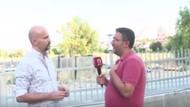Beyaz TV muhabiri Atalay Demirci'nin yüzüne böyle tükürdü!