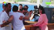 Hadise'nin plajı La Plaj'da çıkan olaylar böyle görüntülendi!