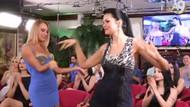 Adnan Oktar'ın seksi Rus kediciği Lisa'nın oryantal dansı
