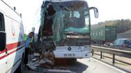 TEM'de feci kaza: 5 yaralı