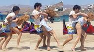 Lindsay Lohan'ı sevgilisi Yegor Tarabasov böyle tartakladı!
