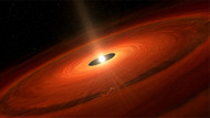 Toz bulutundan yeni ve dev bir gezegen doğdu!