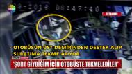 Hemşire Ayşegül Terzi Maslak'ta şort giydi otobüste saldırıya uğradı