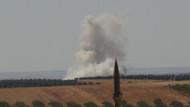 Sınırda hareketli saatler: Obüsler vurmaya başladı dumanlar yükseliyor