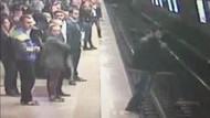 Son dakika haberleri: Taksim Metrosunda bir kişi hareket halindeki trenin önüne atladı!