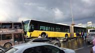 Metrobüs şoförüne saldıran kişi böyle gözaltına alındı!