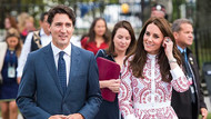 İlk kez Kanada başbakanını gören prensesin tepkisi sosyal medyayı salladı!