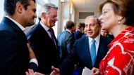 Türk vekil Tunahan Kuzu Netanyahu'nun elini sıkmadı