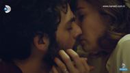 Hayat Şarkısı'nda Hülya ve Kerim'in öpüşme sahneleri