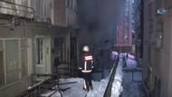 Bahçelievler'de yangın çıktı: 2 Ölü