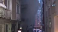 Bahçelievler'de 3 katlı binada yangın!  2 kişi öldü..