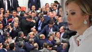 Berna Laçin'den meclisteki kavga görüntülerine olay tepki