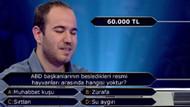 Kim Milyoner Olmak İster yarışmasının olay sorusu