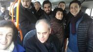 Bakan Meclis'e belediye otobüsüyle gitti gören şaşırdı