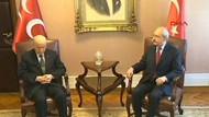 Kılıçdaroğlu ile Bahçeli arasında Merhaba-Hoşçakal zirvesi