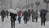 Flaş: Kar yağışı haftaya geri dönüyor