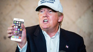 Başkan Trump Android'i bırakıp iPhone'a geçti