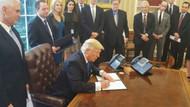 Obama'nın üç kez veto ettiği projeyi Trump onayladı