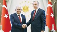 Cumhurbaşkanı Erdoğan Başbakan Yıldırım'ı kabul etti