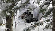 TSK'dan kış operasyonu: Bu fotoğrafları paylaştı...