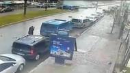 İzmir'de kahraman polis Fethi Sekin'in teröristlerle çatışma anı