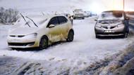 Tem otoyolu otoparka döndü! İstanbul'da kar çilesi devam ediyor