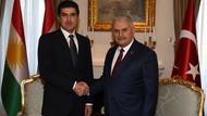 Başbakan Yıldırım, Barzani'yle görüştü