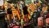 Katalonyada referandum gerilimi! Sandıkları tek tek toplatıyorlar