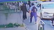 Ataşehir'de yolda yürüyen kadını yumruklayan saldırgan aranıyor