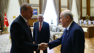 Meclis'te kritik zirve: Erdoğan, Yıldırım, Bahçeli görüşmesine Hulusi Akar da katıldı