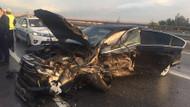 MHP Genel Başkan Yardımcısı kaza yaptı: 1 ölü 5 yaralı