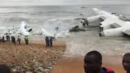 Fildişi Sahili'nde kargo uçağı düştü: 4 ölü, 6 yaralı