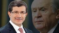 MHP: Davutoğlu'nun Erdoğan hakkındaki sözlerini açıklarsak...