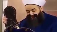 Cübbeli Ahmet'ten skandal terlik videosu