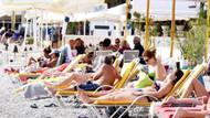 Bodrum'da sarı yaz: Plajlar Japon ve Koreli turistlere kaldı